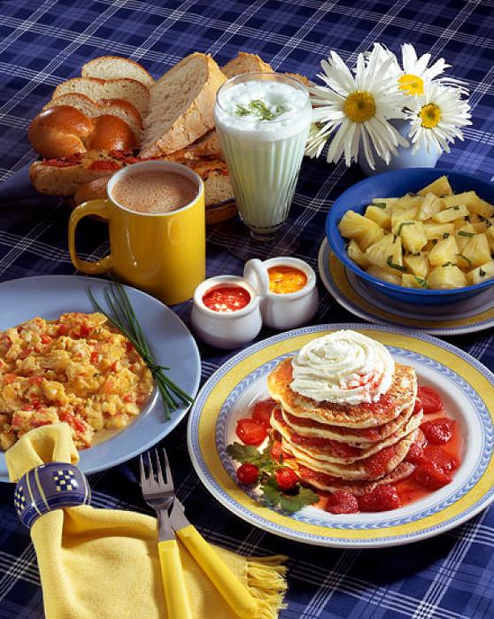 Завтрак открытки на польском языке